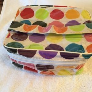 Lancome cosmetic bags-lot of 2